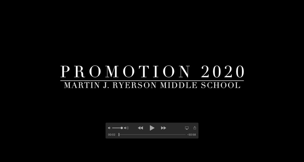 2020 8th Grade Promotion Video